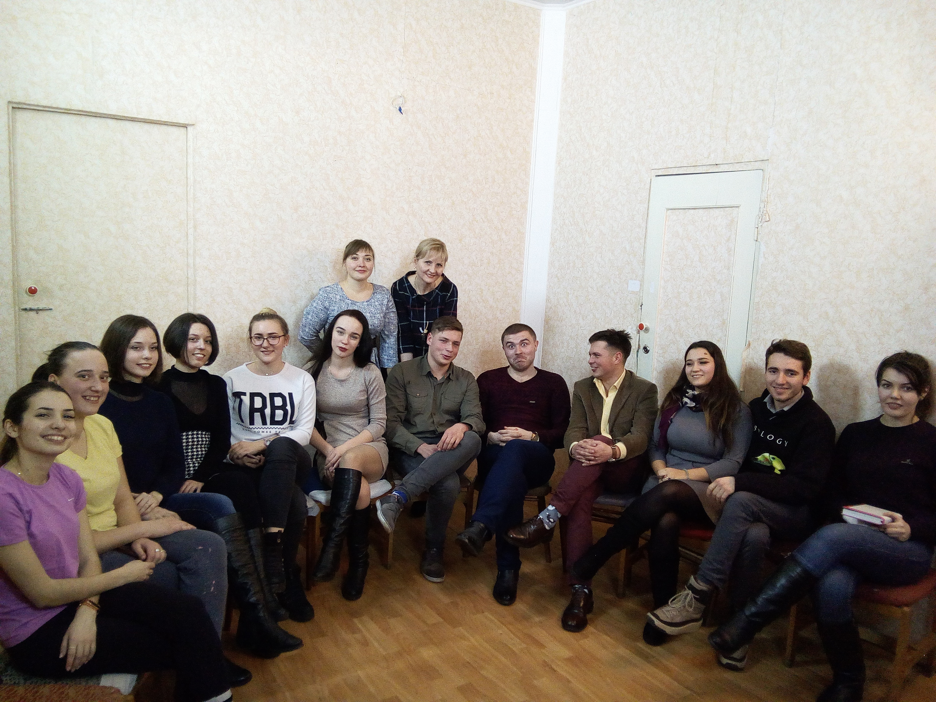 Перша зустріч літературного гуртка: «Барви мови»