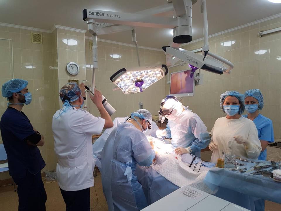 Чергова операція ізольованої гіпертермічної хіміоперфузії