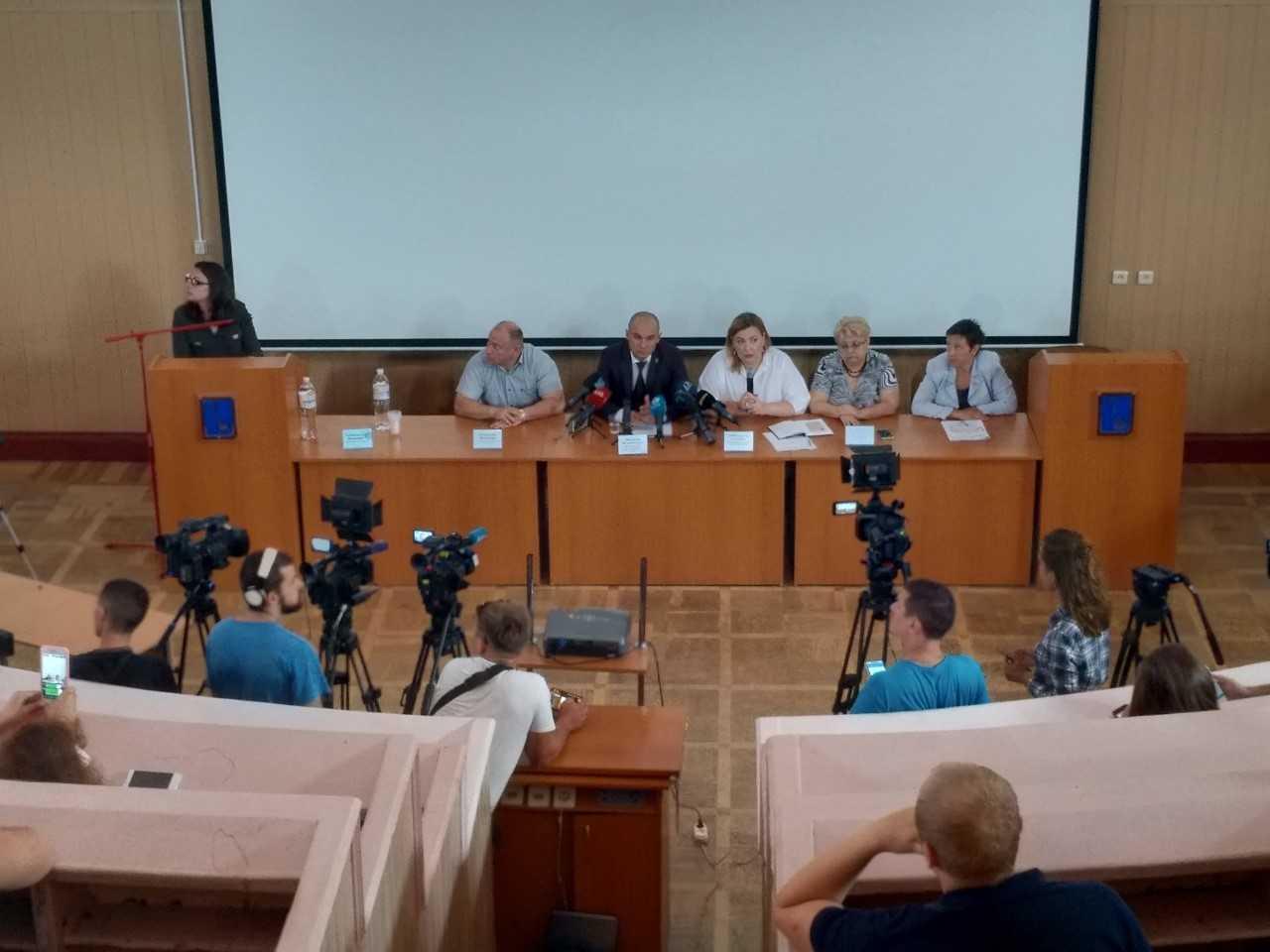 Відбулася прес-конференція на тему поточної діяльності ОНмедУ