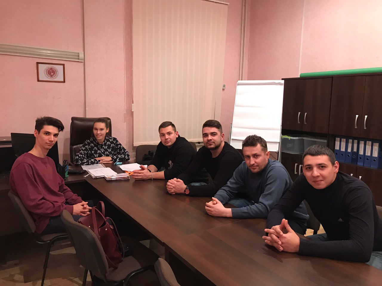 A meeting of student self-government with the guests of the hostels of the ONMedU