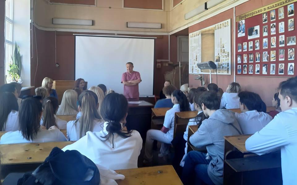 Тренінг для вітчизняних студентів 6 курсу з метою підготовки до складання ОСКІ