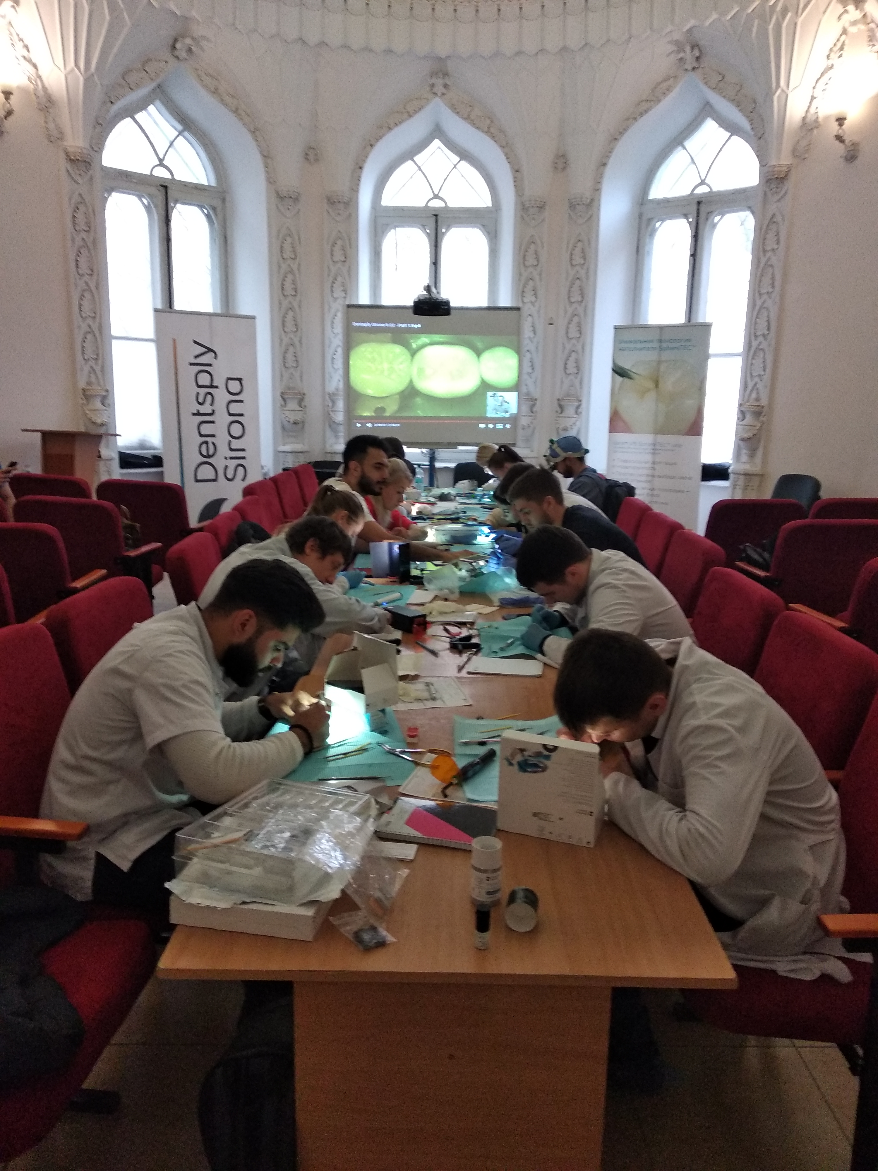 Master Class for Dentists from Dentsply Sirona, an International Company.