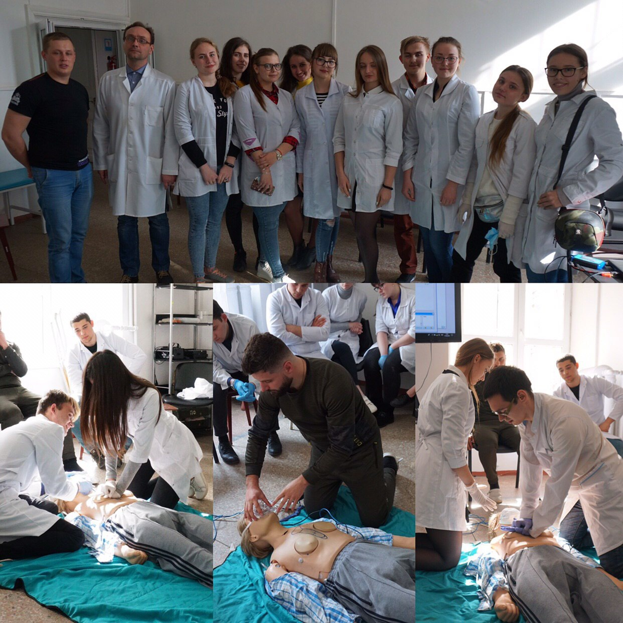 Master Class on the Basis of BLS (Cardiopulmonary Resuscitation)