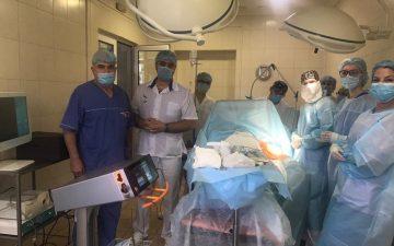 Професор О. Ткаченко: Кафедра хірургії № 3 Одеського національного медичного університету на базі Університетської клініки (Тіниста, 8) впроваджує новітні медичні технології