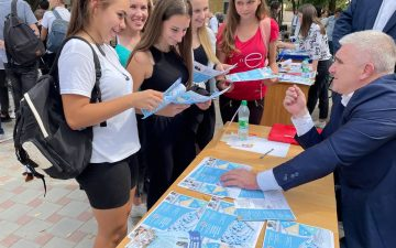 Career guidance work among schoolchildren of Odessa and Odessa region